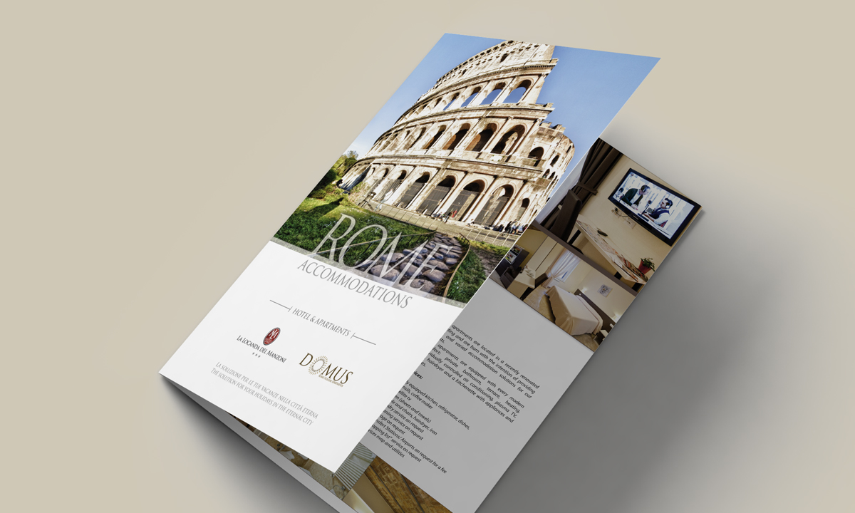 Cover brochure per Hotel e B&B