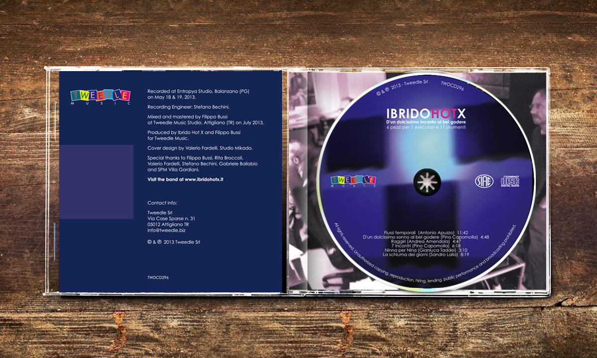 Label e booklet CD Artwork